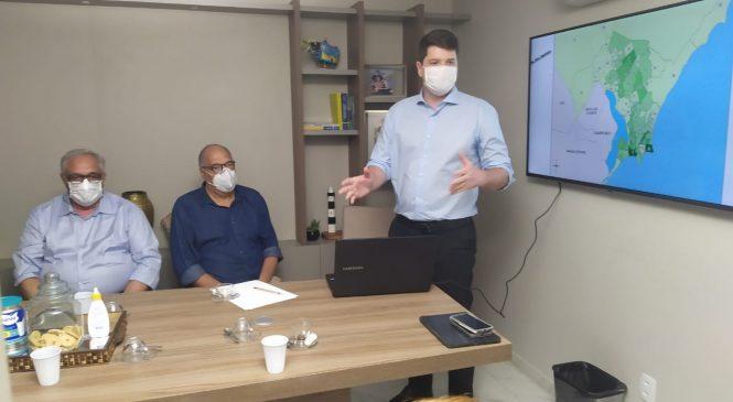 Davi Filho reúne lideranças e técnicos para discutir propostas