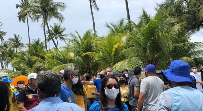 Começa à caça ao voto: candidatos saíram às ruas de Maceió logo cedo