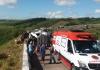 Passageira morre após carreta tombar em Junqueiro