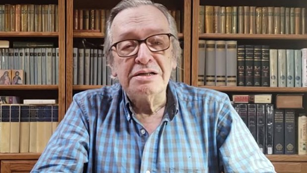Olavo de Carvalho se revolta e chama Bolsonaro de ingrato após exoneração de aliados
