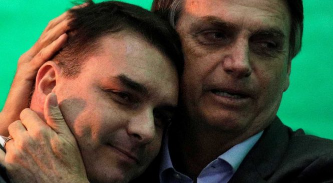 Justiça proíbe Globo de exibir documentos de investigações sobre Flávio Bolsonaro