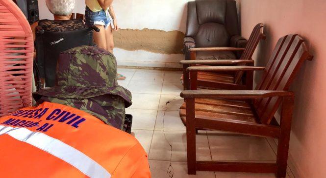 Defesa Civil analisa se rachaduras provocadas pela Braskem chegaram ao Farol