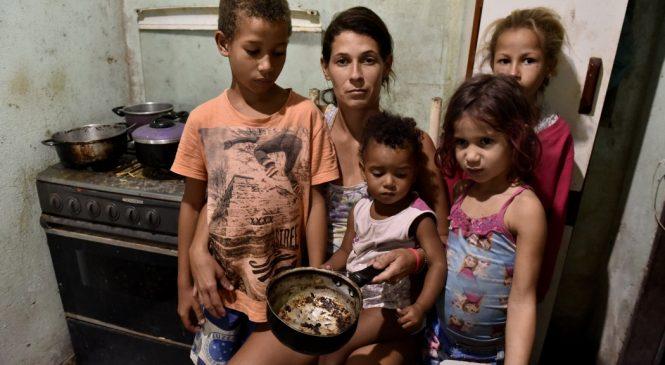 Pelo menos 282 mil alagoanos passam fome, segundo o IBGE