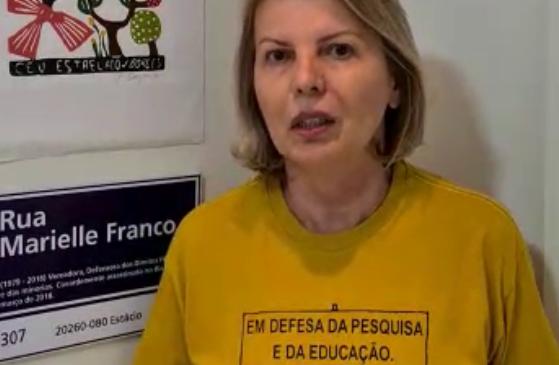 Live de Valéria Correia é invadida com imagens pornográficas e mensagens de ódio