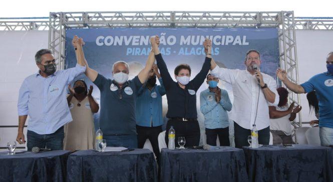 Progressistas oficializa Maristela como candidata à reeleição em Piranhas