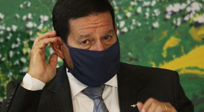 Mourão quer agência militar no lugar do Inpe para imagens de satélite da Amazônia