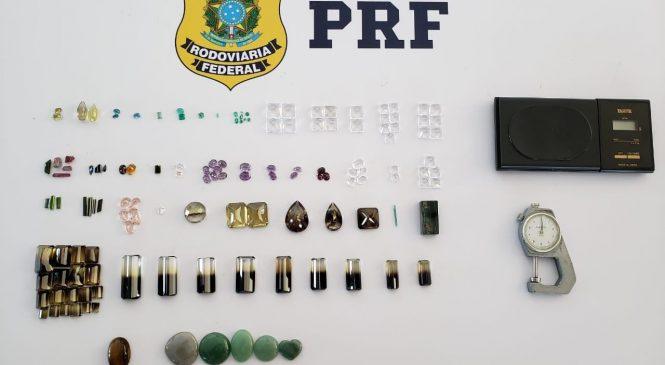 PRF prende três homens com 139 pedras preciosas em Canapi (AL)