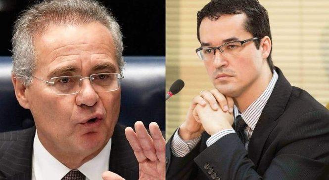 Renan diz que Deltan saiu da Lava Jato 'pelos fundos' e ficará com Moro no 'grupo dos insignificantes'