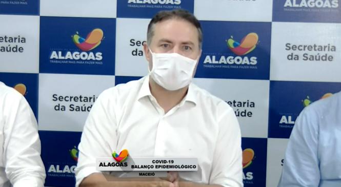 Renan Filho anuncia novo decreto para Alagoas na tarde desta quarta