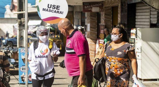 ALE vota nesta terça projeto para multar quem não usa máscara em Alagoas