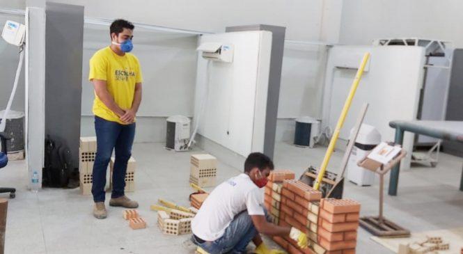 Senai promove simulado para alunos da área de Construção Civil