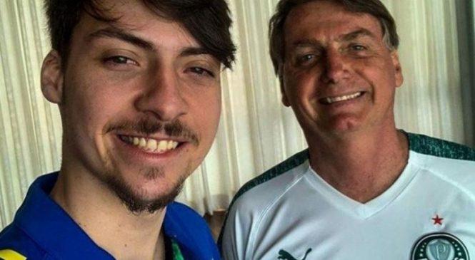 Jair Renan, filho 04 de Bolsonaro, também quer entrar na política