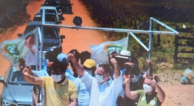Luciano Barbosa em campanha para prefeito: Deus salve Arapiraca