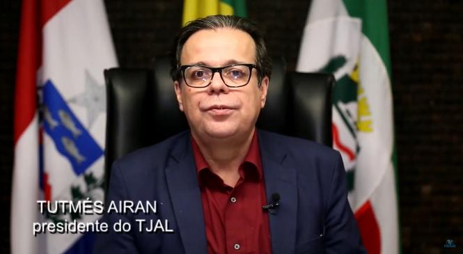 Dia do Servidor: Tutmés Airan agradece empenho durante a pandemia