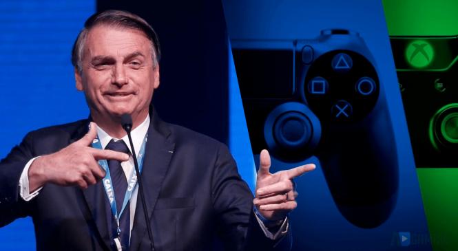 Governo Bolsonaro reduz imposto sobre videogames