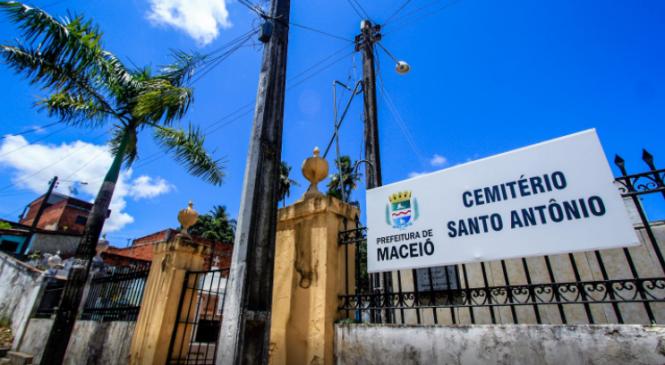 IML pede e MPE/AL fará tratativas em busca de mais vagas em cemitérios públicos