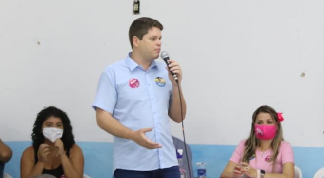 Davi Davino Filho critica Rui Palmeira e diz que vai criar pontes entre Prefeitura, Estado e União