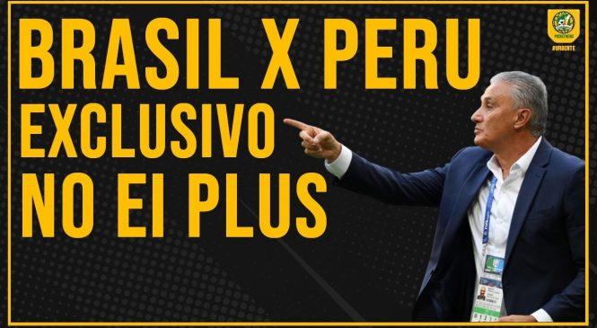 Peru e Brasil se enfrentam nesta terça sem exibição da Globo