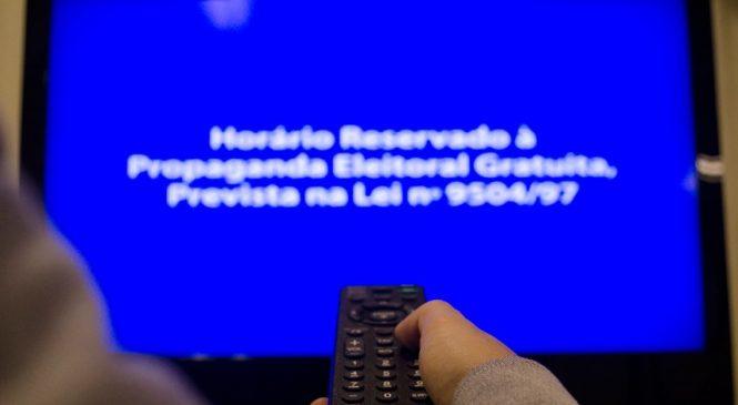 Horário eleitoral recomeça em Maceió