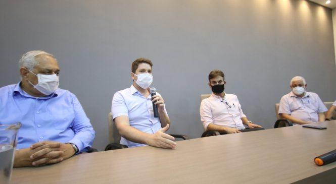 Davi Filho se reúne com médicos e anuncia novo tempo na gestão municipal