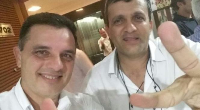 Vídeo: Prefeito de União dos Palmares admite crimes durante discurso contra seu vice