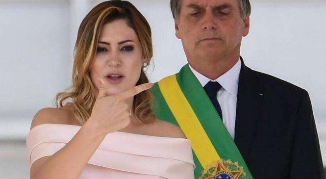 """PF encontra vínculos de Michelle Bolsonaro com contas fakes e o """"gabinete do ódio"""""""