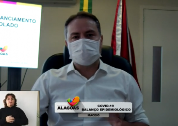 Ao vivo: Renan Filho anuncia novo decreto para Alagoas