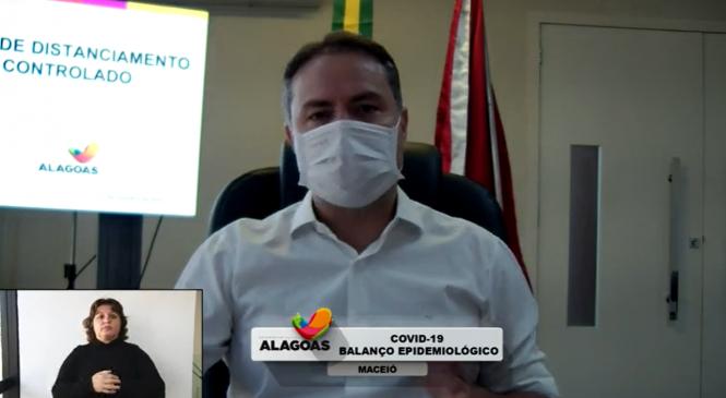 Novo decreto em Alagoas: Aulas para adultos retornam na segunda-feira