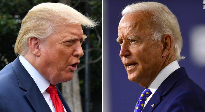 Próximo debate será virtual, Trump considera ideia ridícula e afirma que não participará