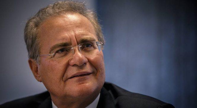 Renan sugere a Guedes cortar R$ 5 bi de emendas e acabar com supersalários
