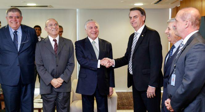 De olho no poder, MDB está a um passo de uma aliança com Bolsonaro