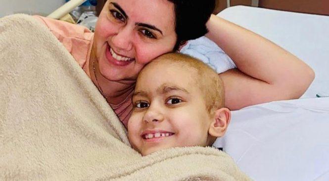 Drama familiar: campanha pede ajuda para tratamento de criança com câncer