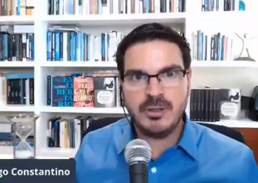 Rodrigo Constantino será comentarista no programa de Lacombe na RedeTV!