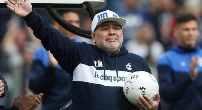 Morre Maradona aos 60 anos