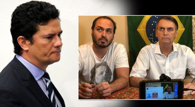 Moro: Carlos Bolsonaro é ligado a 'gabinete do ódio' e ministros sabem disso