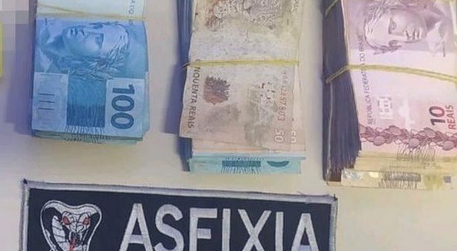 Viçosa: Candidato a vereador é preso em flagrante com R$ 30 mil reais com CPFs