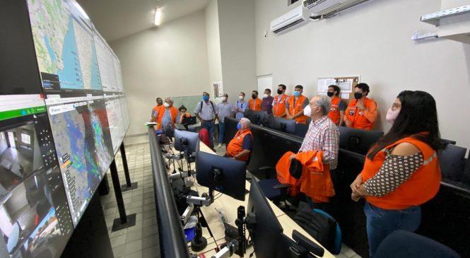 Pesquisadores da UFPE e UFRN conhecem monitoramento da área de subsidência