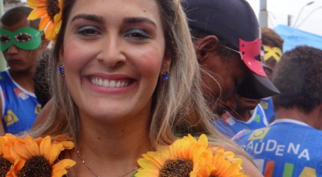 Ângela Vanessa é a primeira mulher eleita prefeita de São José da Laje