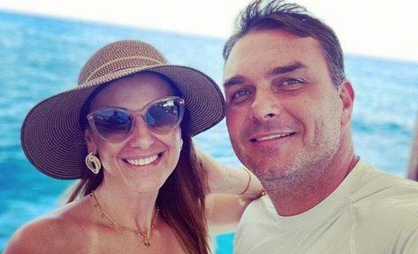 Flávio Bolsonaro usa dinheiro público para ir às férias em Fernando de Noronha