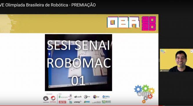 Escola Sesi Senai ganha maior competição de robótica da América Latina