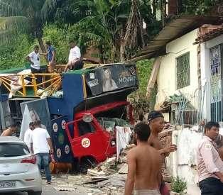 Fim de campanha caótico: acidente com trio de JHC na Chã da Jaqueira