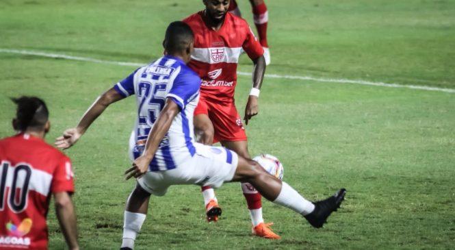 CRB e CSA empatam sem gols no último clássico do ano