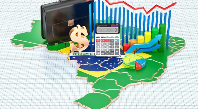 Abaixo das projeções, PIB do Brasil tem crescimento de 7,7% no 3º trimestre