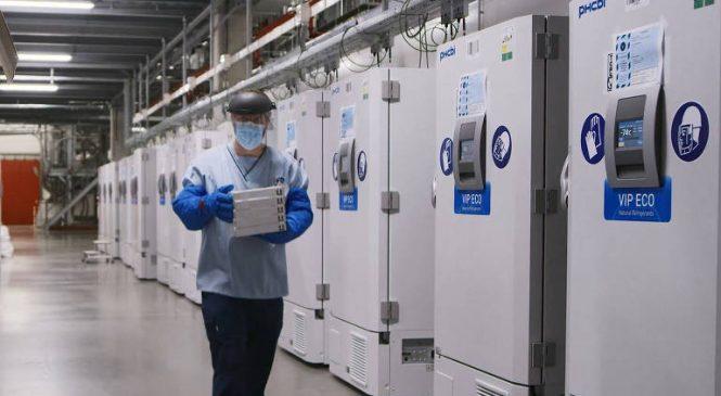 Armazenamento a -70º faz Pfizer adiar entrega de vacinas na Europa