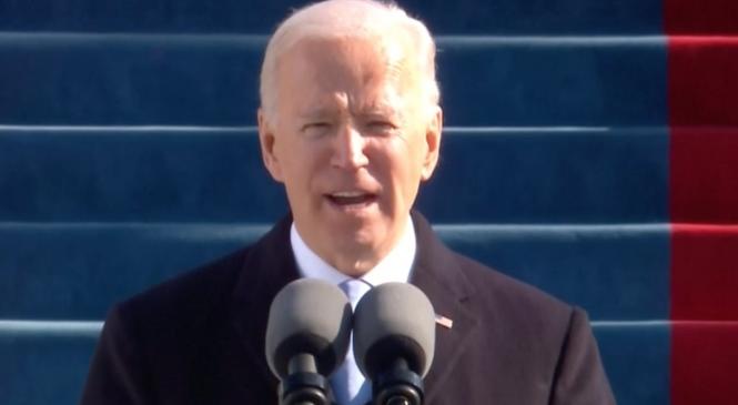Joe Biden toma posse e é o 46º presidente dos Estados Unidos