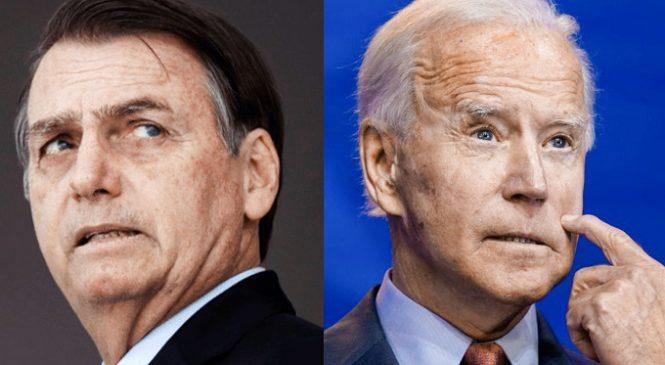 Biden toma posse como presidente dos EUA e Brasil de Bolsonaro será alvo, não aliado