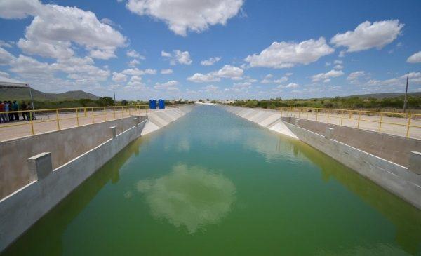 Infraestrutura autoriza a liberação de mais quatro quilômetros de água