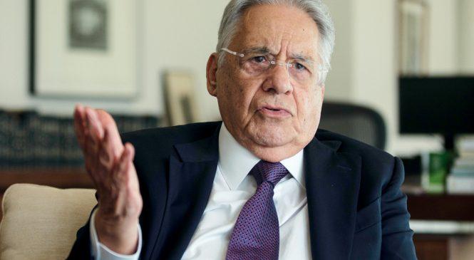 FHC diz a deputados do PSDB que votar em Arthur Lira é perder as eleições de 2022