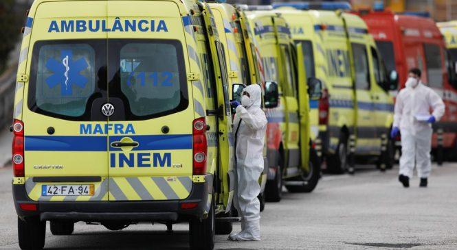 Mortes por covid batem recorde e Portugal pode ter ajuda internacional