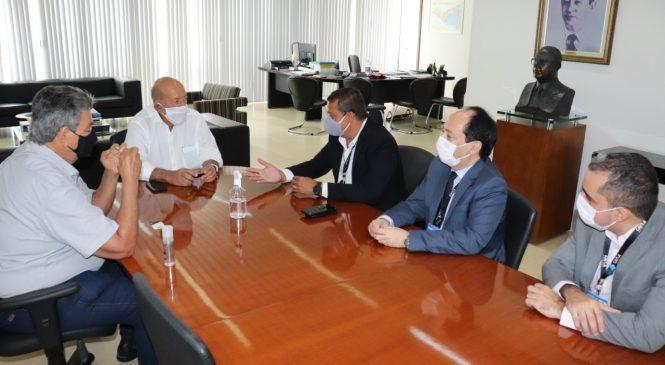 Dirigentes da CEF apresentam programa de expansão de investimentos à Fiea